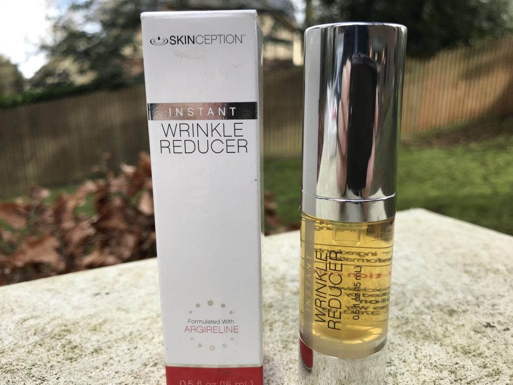 skinception instant wrinkle reducer