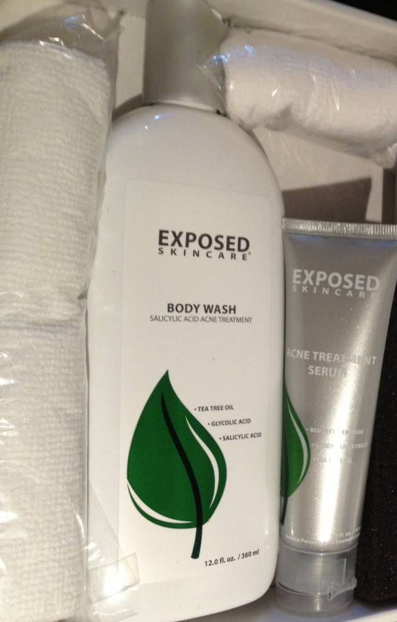 exposed body wash