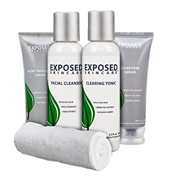 exposed skincare 60 day kit