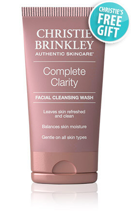 Christy Brinkley facial cleansing wash